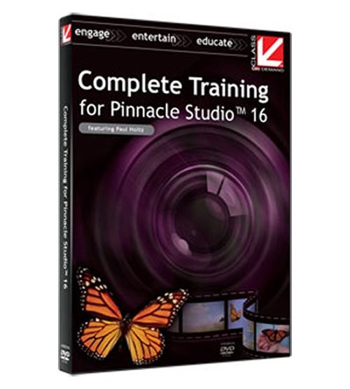 Complete Training for Pinnacle Studio 16 foto mare