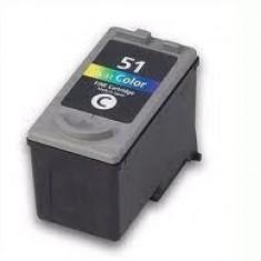 CARTUS CANON CL51 COLOR GOLIT SUPER PRET ! - Cartus imprimanta