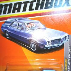 MATCHBOX-OLDSMOBILE VISTA CRUISER - ++2101 LICITATII !! - Macheta auto Matchbox, 1:64