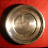 Platou -metal argintat marca EPNS -Albina, d= 23, 3 cm - Metal/Fonta