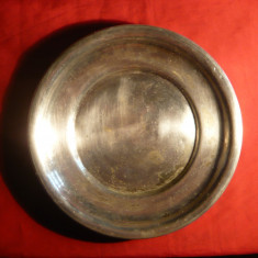 Platou -metal argintat marca EPNS -Albina ,d= 23,3 cm