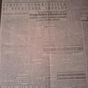 ZIARE MOLDOVA LIBERA 1947