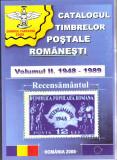 CATALOGUL TIMBRELOR POSTALE ROMANESTI vol 2 1947 - 1989 - CARTEA