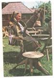 carte postala(ilustrata)-BUCOVINA-costum popular