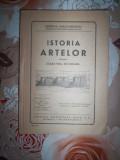 Istoria artelor pentru clasa a 8-a secundara(an 1947)