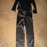 VAND COSTUM DAMA(SACOU+PANTALON) APROAPE NOU!, Marime: 38, Culoare: Negru, Costum cu pantaloni
