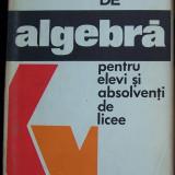 FISE de ALGEBRA pt elevi - Manual scolar