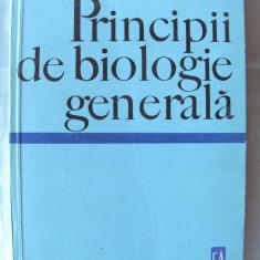 """""""PRINCIPII DE BIOLOGIE GENERALA"""",  N. Botnariuc, 1967. Carte noua, Alta editura"""