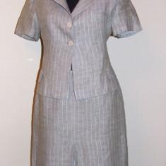 Costum dama, in, YOKKO - mas. S/M, F FRUMOS!!!, Culoare: Khaki, Costum cu fusta