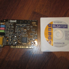 Placa sunet Creative SoundBlaster Live 5.1 - Placa de sunet PC Creative, PCI