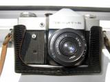 Aparat foto vechi Zenit B cu obiectiv INDUSTAR