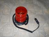 girofar portocaliu  stroboscopic  cu talpa magnetica
