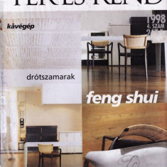 TER ES REND - REVISTA DE CASA SI DECORATIUNI IN LIMBA MAGHIARA NR. 4/1998 - Revista casa