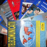LOT / COLECTIE / 8 REVISTE RADIOCOMUNICATII SI RADIOAMATORISM SI TELECOMUNICATII
