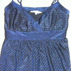 Rochita de club New Look - Rochie de club, Culoare: Albastru, Marime: 38, Mini, Cu bretele