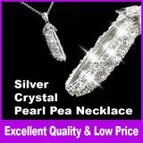 Vand colier fashion cu perle si cristale