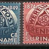 Surinam, 75 ani UPU, 1949, MNH, Transporturi
