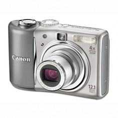 Vand camera foto Canon A 1100 IS PowerShot blue, 12, 1Mp, stabilizator optic, procesor imagine:DIGIC 4.bonus husa+card memorie SD SanDisk 2 GB - Aparate foto compacte