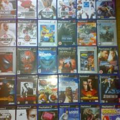Vand colectie jocuri ps2 pentru Playstation 2 - peste 150 bucati