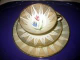 Set pentru 1 persoana de cafea din portelan marcat Bavaria Winterling.