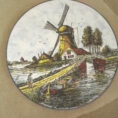 FARFURIE din ceramica PICTATA  - suvenir OLANDA