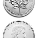DOLAR CANADIAN, CEL MAI PUR ARGINT DIN LUME .9999, Monede