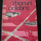 CONSTANTIN C. GHEORGHIU - ZBORURI CELEBRE - Carte de calatorie