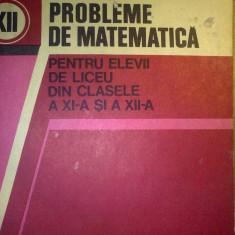 Probleme de matematica pentru elevii de liceu din clasele a XI-a si a XII-a - Liviu Parsan