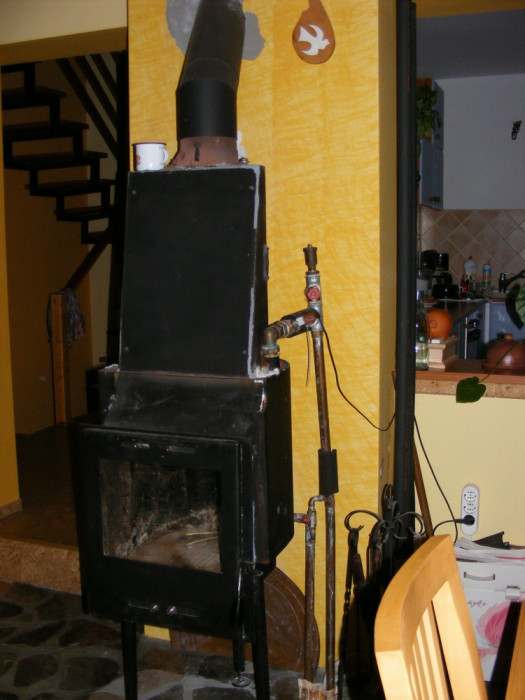 centrala termica pe lemne foto mare