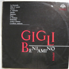 Beniamino Gigli - Arii din opere - VINIL - Muzica Opera