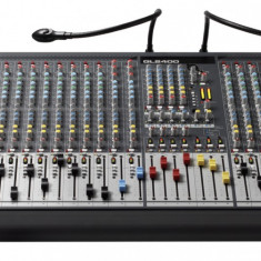 Mixer analog Allen & Heath GL2400-24 cu flightcase - Mixer audio allen&heath