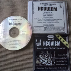 Giuseppe verdi requiem gheorghe stanciu felicia filip cd disc muzica clasica