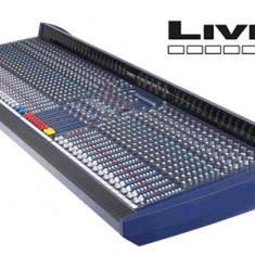 Mixer consola analog Soundcraft Live 8 40 canale + 2 stereo cu meterbridge - Mixer audio