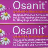OSANIT - Granule homeopate calmare dureri dentare pt bebelusi