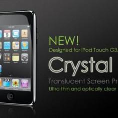 Folie Transparenta Protectie Display iPod Touch Generatia 3 3G 3rd Gen - Folie protectie tableta Apple