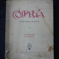 NICOLAE OTTESCU - COPPELIA. FANTEZIE IN VERSURI. 4 ACTE {1926}