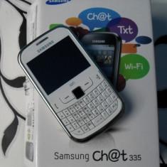 Vand samsung chat 3350 - Telefon Samsung, Alb, Clasic, 3.15 MP, Micro SD, Wi-Fi: 1