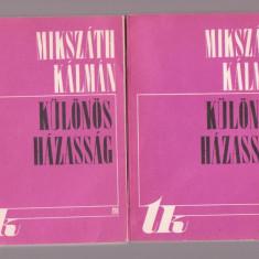 Mikszath Kalman - Kulonos Hazassag (2 Vol.) - Lb. Maghiara