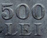 500 lei 1946 UNC necirculata -- eroare batere --  dubla batere la 500