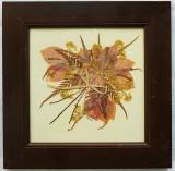 Colaj floral, semnat, Scene gen, Fresca, Altul