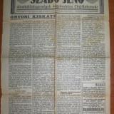 Pagina ziar Ellenzek (Opozitia) Cluj Napoca 1930