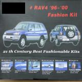 COMPLET SET CROMATE TOYOTA RAV4 96-00