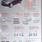 COMPLET SET CROMATE BMW SERIA-5 E60 [ 23 pcs]