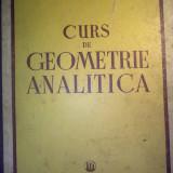 CURS DE GEOMETRIE ANALITICA - I. CREANGA