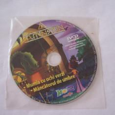 TUTENSTEIN - MUMIA CU OCHI VERZI SI MANCATORUL DE UMBRE, ATENTIE ESTE SVCD FILMUL ! - Film animatie, DVD, Romana
