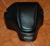 Toc piele foto Nikon