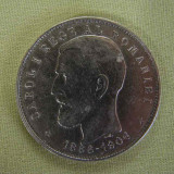 5 lei 1906 XF - Moneda Romania