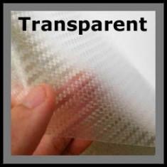 Folie carbon 3d de culoare transparenta - Folii Auto tuning
