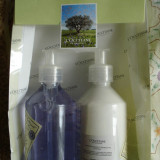 Set L'Occitane en Provence Sapun lichid si Lotiune de maini cu extract de lavanda 250 ml fiecare sigilat original punguta bio cadou Franta cosmetice