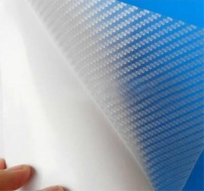 folie carbon 3d  de culoare transparenta de 60cn foto